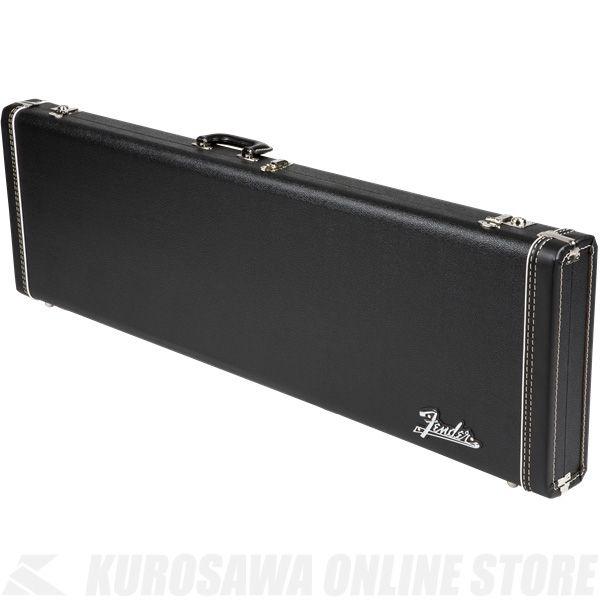Fender Jazz Bass Multi-Fit Hardshell Case, Black with Orange Plush Interior《ベース》