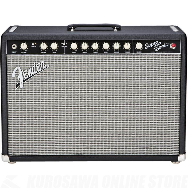 Fender Amplifier Super-Sonic Series / Super-Sonic 22 Combo, Black, 100V JPN《アンプ/ギターアンプ》【ご予約受付中】