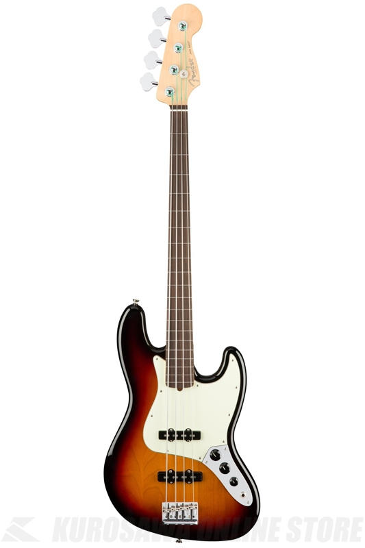 Fender [No.0194100700] / American Professional Jazz Bass Fretless(3-Color Sunburst / Rosewood Fingerboard)《ベース》【送料無料】【ご予約受付中】