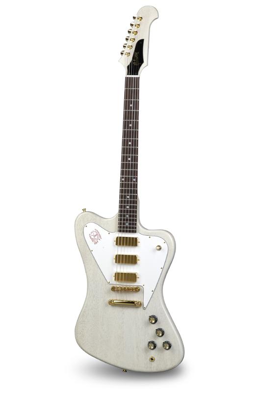 Gibson Custom Shop Non-Reverse Firebird Mini-Humbuckers (TV White)