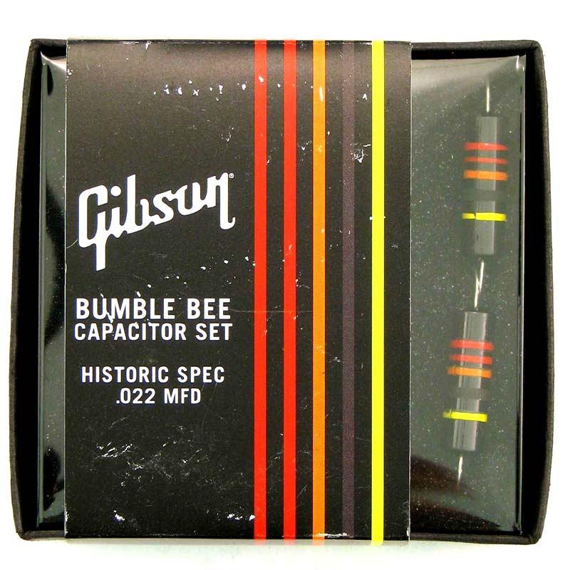 Gibson Gear Historic Bumble Bee Capacitors 2-pack [PCAP-059] 《パーツ・アクセサリー/ コンデンサ 》【ギブソン純正】