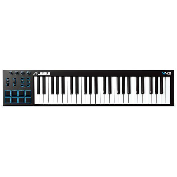 【新品、本物、当店在庫だから安心】 Alesis 49-Key V49 49-Key USB-MIDI Keyboard Controller Keyboard Alesis 《MIDIコントローラーキーボード/49鍵》【送料無料】【入荷しました】, 灘崎町:f4e909d6 --- canoncity.azurewebsites.net