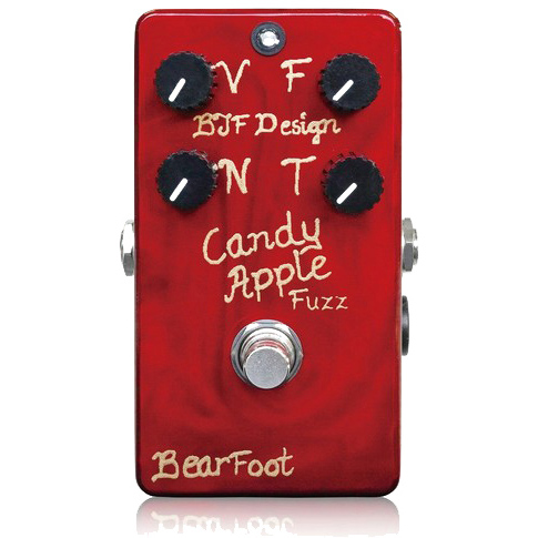 BearFoot Guitar Effects Candy Apple Fuzz Gold《エフェクター/ファズ》【送料無料】