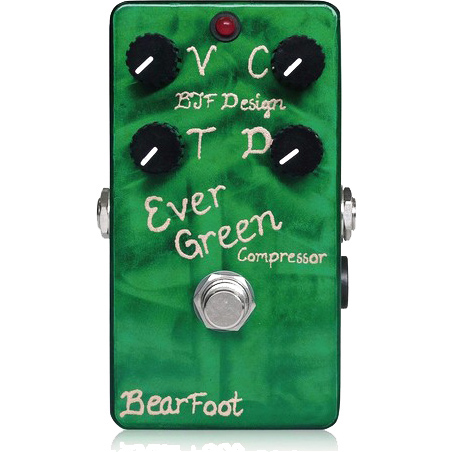 BearFoot Guitar Effects Ever Green Compressor《エフェクター/コンプレッサー》【送料無料】