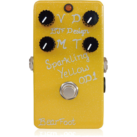 BearFoot Guitar Effects Sparkling Yellow OD 1《エフェクター/オーバードライブ》【送料無料】