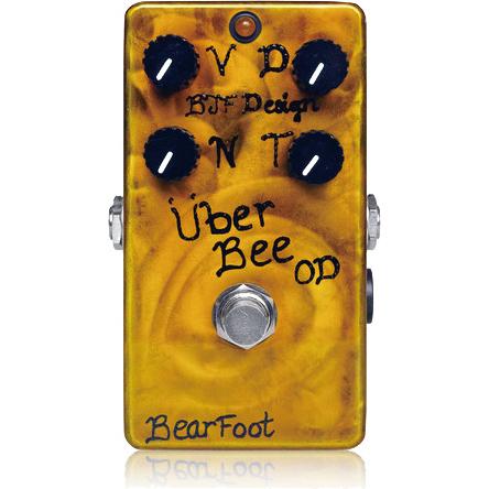 BearFoot Guitar Effects Uber Bee OD《エフェクター/オーバードライブ》【送料無料】【入荷時期未定・ご予約受付中】