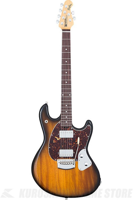 Music ManStingRay Guitar(Vintage Tobacco / Rosewood Fingerboard / Shell Pickguard)《エレキギター》【送料無料】