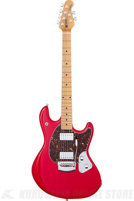 Music ManStingRay Guitar(Chili Red / Select Maple Fingerboard / Shell Pickguard)《エレキギター》【送料無料】