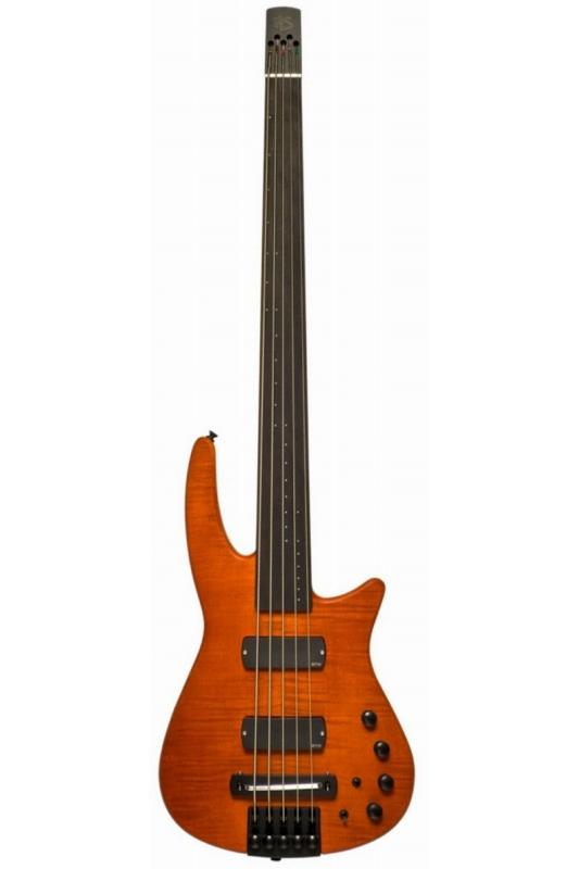 NS Design RADIUS4 Bass Fletless(Amber Satin)《フレットレスベース》【送料無料】