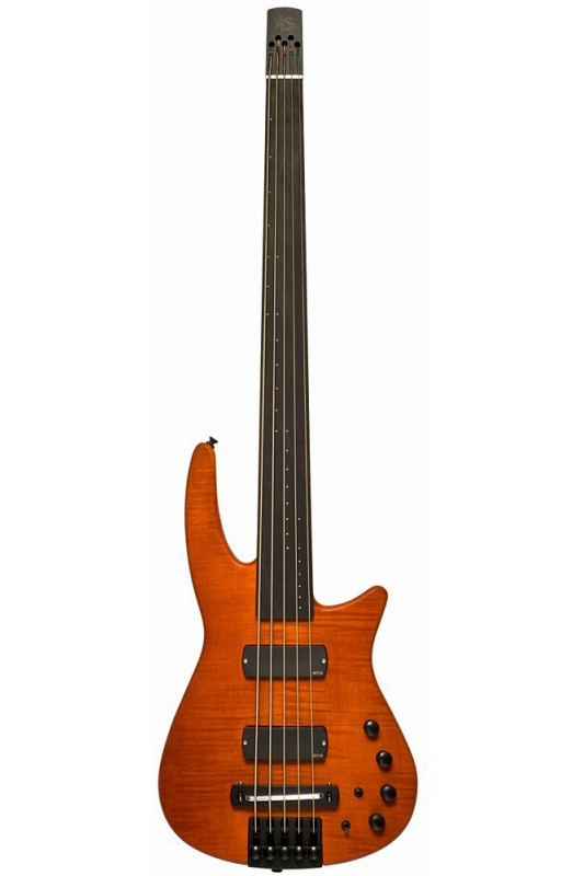 NS Design RADIUS5 Bass Fletless(Amber Satin)《フレットレスベース》【送料無料】
