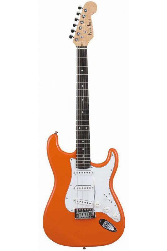 Photogenic ST-180/OR (Orange)《エレキギター》【送料無料】【入門用・初心者に人気!】 [ST-180](ご予約受付中)