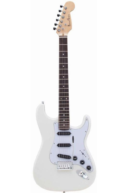 Photogenic STB-200/WH (White)《エレキギター》【送料無料】【入門用・初心者に人気!】 [STB-200]