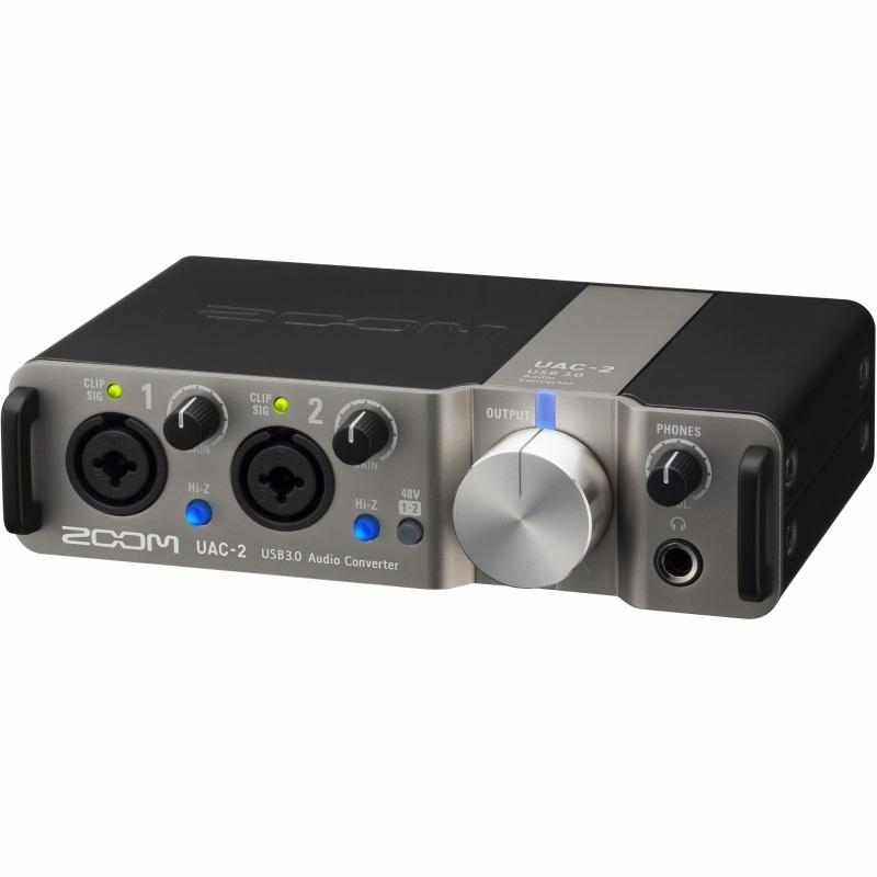 ZOOM UAC-2 USB 3.0 Audio Converter 《オーディオインターフェイス》【送料無料】【4月下旬発売・ご予約受付中】
