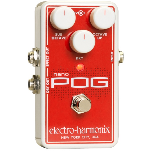 Electro Harmonix NANO POG Polyphonic Octave Generator 《エフェクター/ポリフォニック・オクターブ・ジェネレーター》【送料無料】