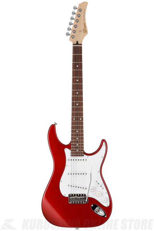 Greco WS-STD (Metallic Red / Rosewood)《エレキギター》【日本製】【送料無料】