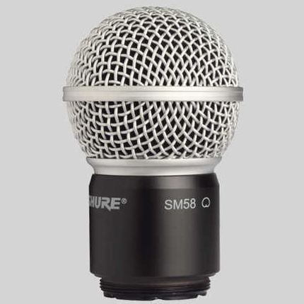 SHURE Wireless Accessories RPW112 / ワイヤレス用SM58カートリッジ【送料無料】