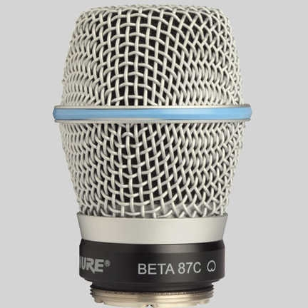 SHURE Wireless Accessories RPW122 / ワイヤレス用BETA87Cカートリッジ【送料無料】【受注生産品】