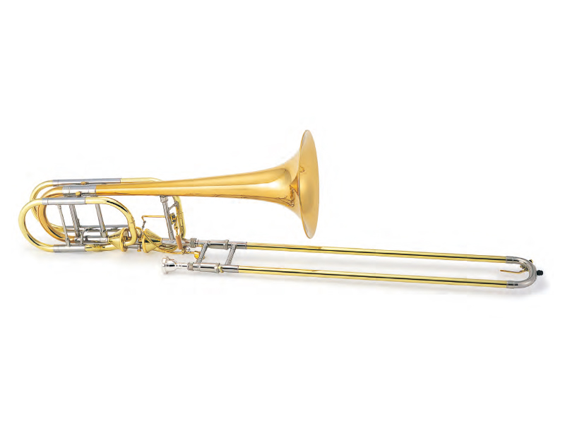 XO Bass Trombone RB-GB ダブルアキシャルフローバルブ/ゴールドブラスベル 《バストロンボーン》【送料無料】