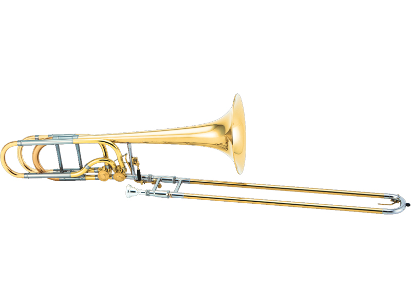 XO Bass Trombone RB-L ダブルアキシャルフローバルブ/イエローブラスベル 《バストロンボーン》【送料無料】
