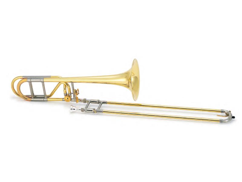 XO Symphony style Tenor Trombone UT-L ロータリーバルブ/イエローブラスベル 《テナートロンボーン》【送料無料】