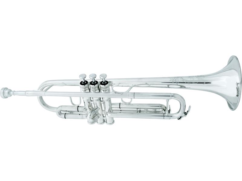 XO Trumpet 1600 I Series 1600I-S ロジャー・イングラムモデル イエローブラスベル/銀メッキ仕上げ 《B♭トランペット》【送料無料】
