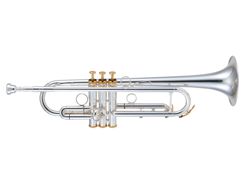 XO Trumpet RV Series RV-GBS ゴールドブラスベル/銀メッキ仕上げ 《B♭トランペット》【送料無料】