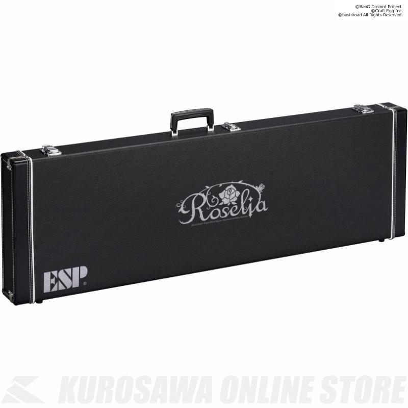 【ベース用ハードケース 】《バンドリ!》 BanG Dream! ESP×バンドリ! ガールズバンドパーティ!Roselia HC-400 ROSELIA-B (ベース用ハードケース )(送料無料)(受注生産品)