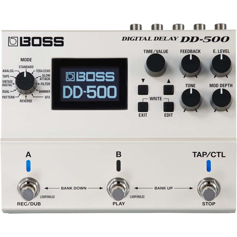 贈物 エフェクター 《ボス》 BOSS DD-500 お得 Digital 送料無料 デジタルディレイ》 《エフェクター Delay