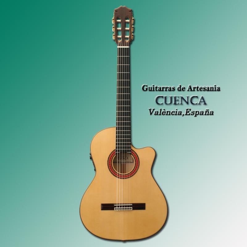 Cuenca Pasion【今なら足台&オーガスチン弦が付いてくる!】 【更にホルへ・アリサ・ライブCDプレゼント!!】【smtb-u】
