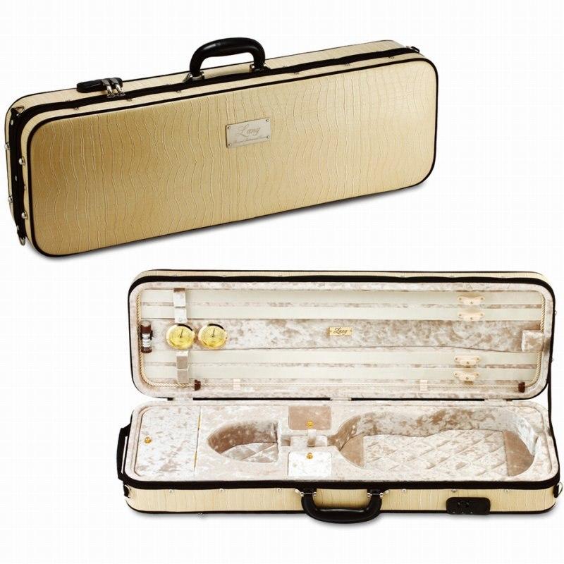 バイオリンケース 《ラング》 Lang メーカー公式 SAシリーズ SA-51:外装:アイボリー 超人気 専門店 内装:ベージュ ご予約受付中 送料無料 《バイオリンケース》