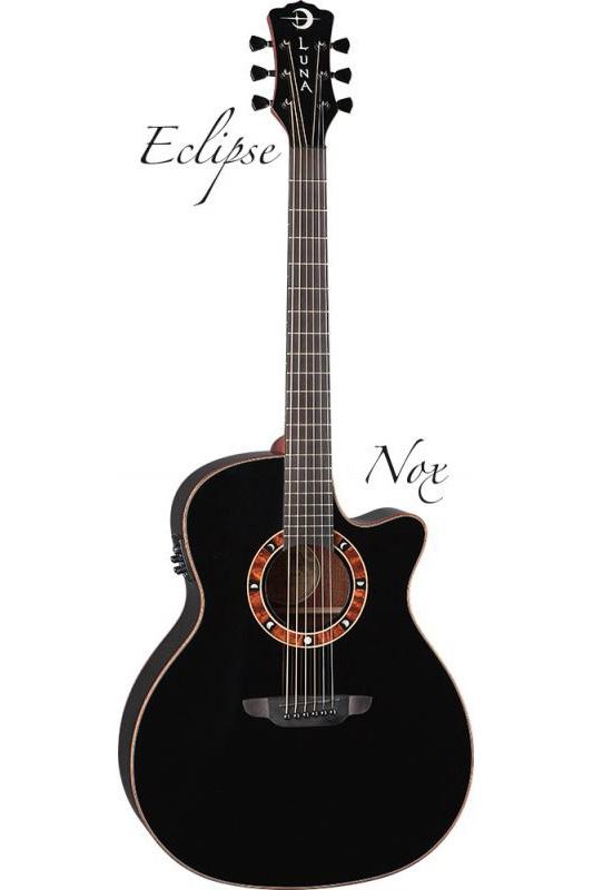 Luna Guitars Eclipse Nox[FAU NOX]《アコースティックギター/エレアコ》【送料無料】(ご予約受付中)