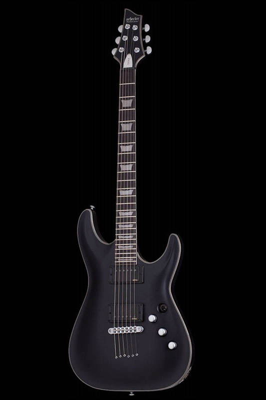 Schecter Diamond Series PLATINUM C-1 (Satin Black) [AD-C-1-PTM / SBK] 《エレキギター》【送料無料】