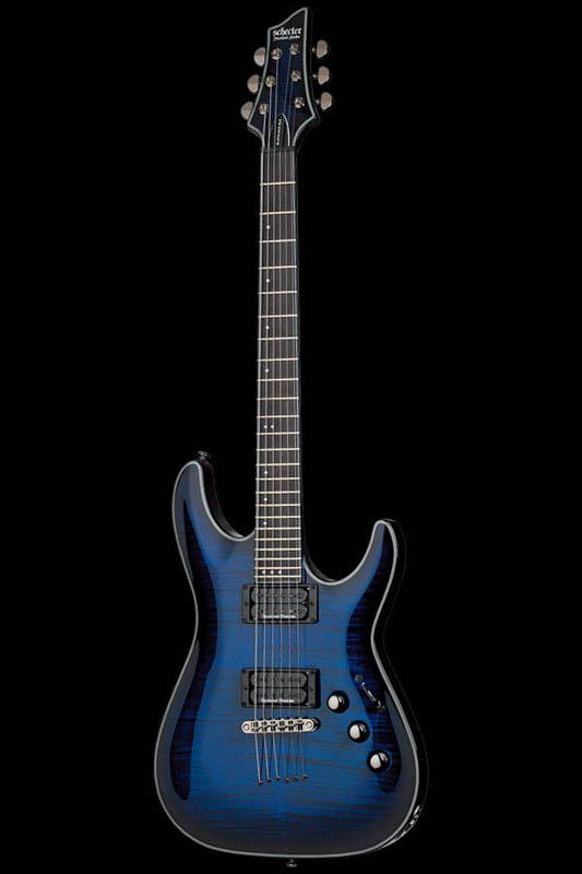 Schecter Diamond Series BLACK JACK SLS C-1 PASSIVE (SEE THRU BLUE BURST with SATIN NECK) [AD-C-1-BJ-SLS/P / STBB] 《エレキギター》【送料無料】(ご予約受付中)