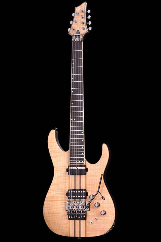 Schecter Diamond Series BANSHEE ELITE 7 FR SUSTAINIAC (Gloss Naturalw/T.Black Satin Burst Back and Neck) [AD-BS-EL-7-FR/S] 《エレキギター》【送料無料】