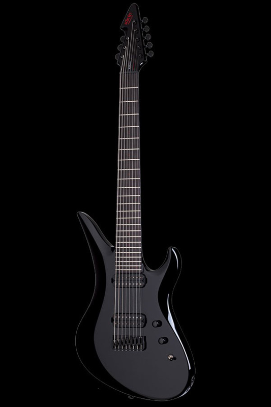 Schecter Diamond Series Black Jack A-7 (Gloss Black) [AD-A-7-BJ-RB / BK] 《エレキギター》【送料無料】(ご予約受付中)