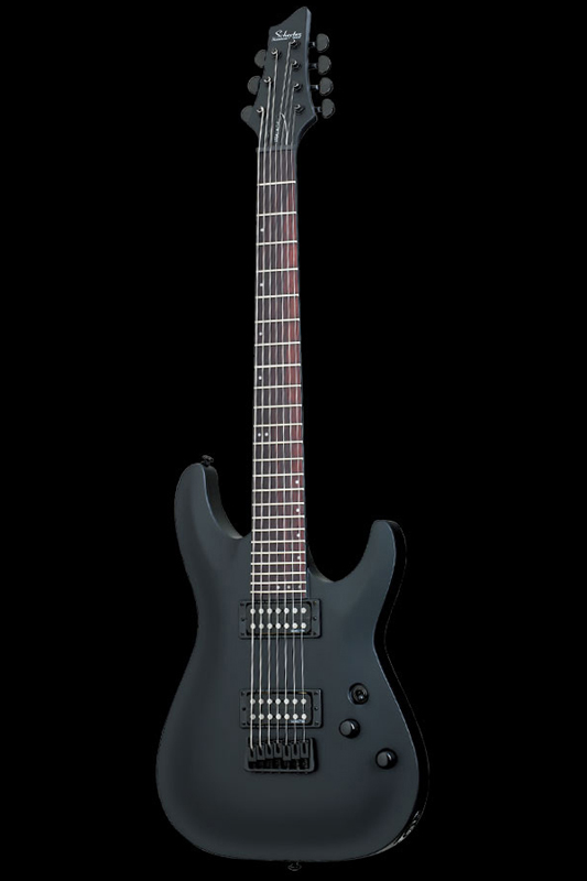 Schecter Diamond Series STEALTH C-7 (Satin Black) [AD-C-7-ST / SBK] 《エレキギター》【送料無料】(ご予約受付中)