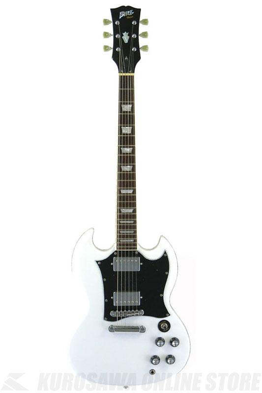Blitz BSG-STD WH(White) 《エレキギター》【送料無料】
