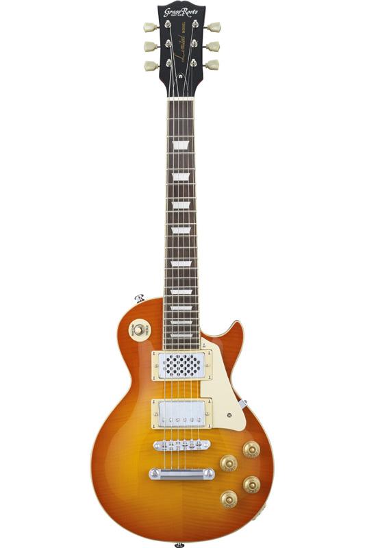 GrassRoots Mini Series G-LPS-MINI-VHB (Vintage Honey Burst) 《エレキギター/スピーカー内蔵ミニギター》【送料無料】