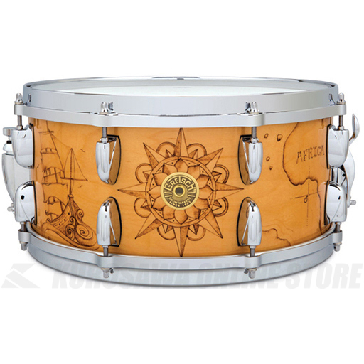 Gretsch Drums C-65146S WB3 NAUTICAL《スネアドラム》【送料無料】