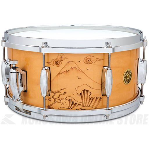 Gretsch Drums C-65148S WB2 MOUNT FUJI《スネアドラム》【送料無料】