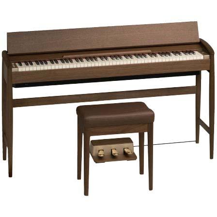 Roland カリモク家具 きよら(KIYOLA) KF-10-KW(ウォールナット) 《デジタルピアノ》【送料無料】