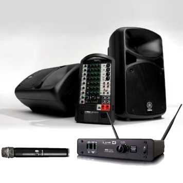 Yamaha Line 6 STAGEPAS600i W/L PACK 《PAセット》【送料無料】