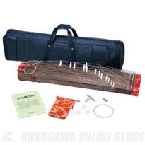 全音 文化箏 羽衣 ソフトケースセット ZK-01 [2701200] 《コンパクト箏》 【送料無料】
