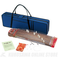 全音 文化箏 羽衣 ハードケースセット ZK-02 [2701210] 《コンパクト箏》 【送料無料】