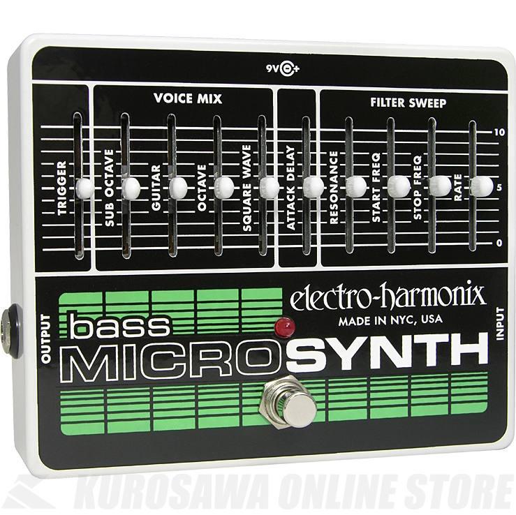 Electro-Harmonix Bass Micro Synthesizer - Analog Microsynth - 《ベースシンセ》【送料無料】