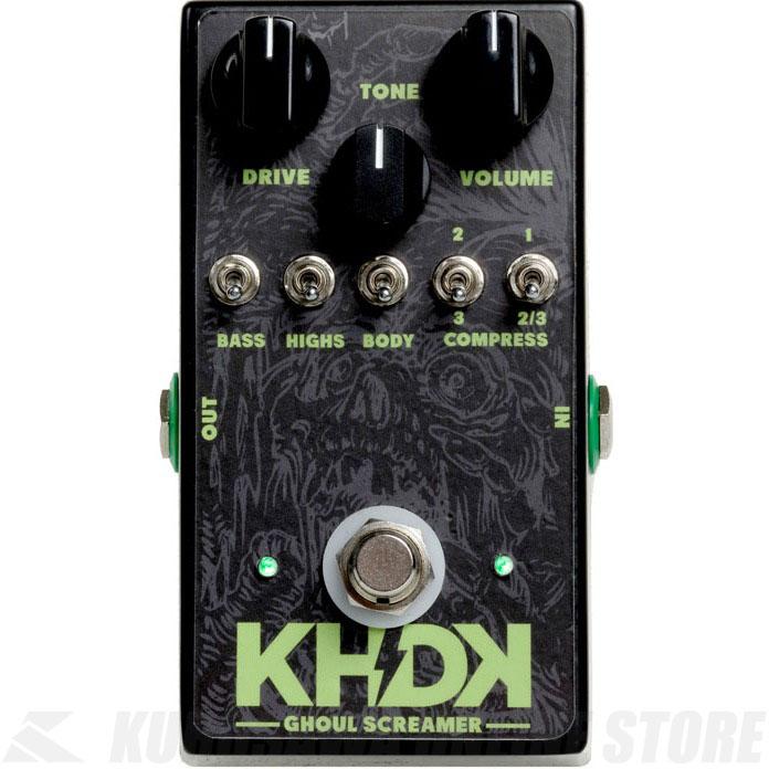 KHDK Electronics Kirk Hammett Overdrive Ghoul Screamer 《エフェクター/オーバードライブ》【送料無料】