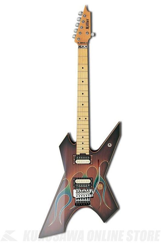 Killer KG-PRIME Blue Flame 《エレキギター》 【高崎晃モデル】【受注生産品】