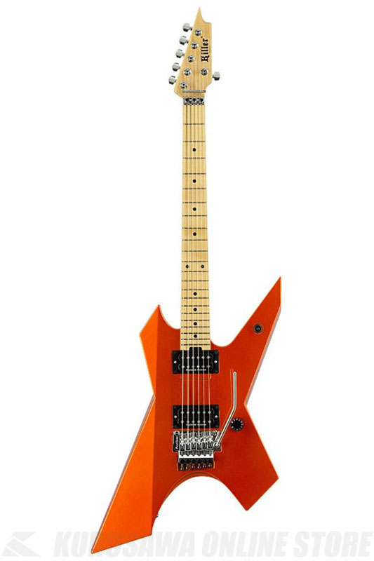 Killer KG-PRIME Original 2015 ver (Metalic Orange ) 《エレキギター》 【高崎晃モデル】【受注生産品】
