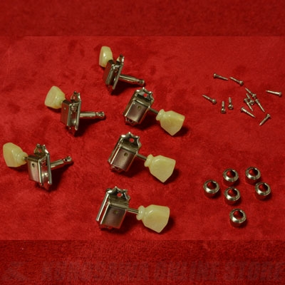 <title>ペグ 《モントルー》 直輸入品激安 Montreux The Clone Tuning Machines for 59 LP Nickel 9214 《パーツ アクセサリー ペグセット》 送料無料</title>
