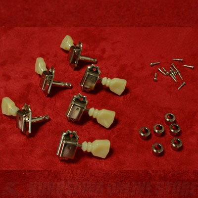 Montreux The Clone Tuning Machines for 60 LP Nickel [9215]《パーツ・アクセサリー / ペグセット》【送料無料】(ご予約受付中)